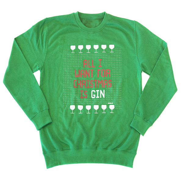 Gin Christmas Jumper