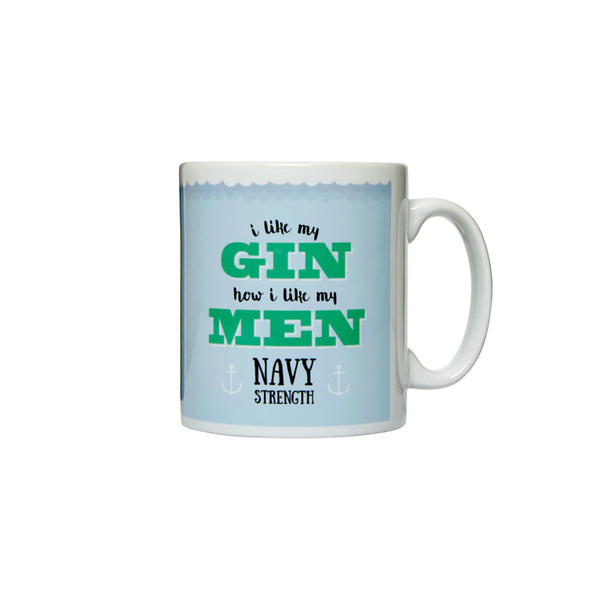 Navy Strength Gin Mug