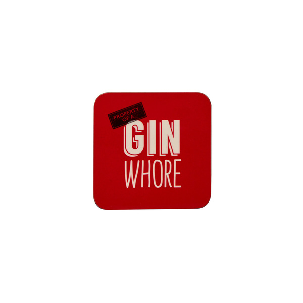 Gin Whore Coaster