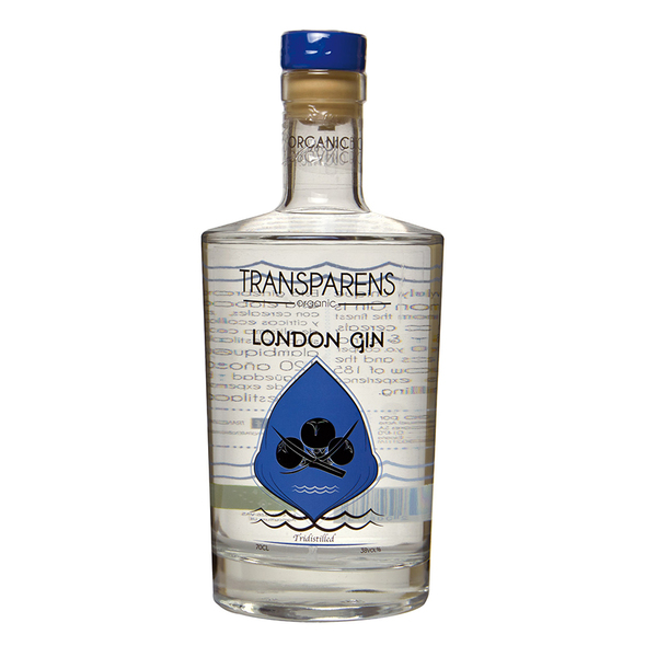Transparens Organic London Gin