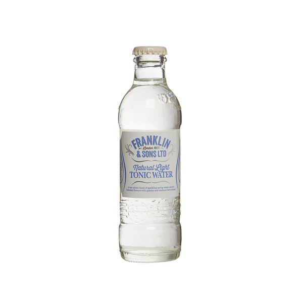 Franklin & Sons Natural Light Tonic Water (X 6)