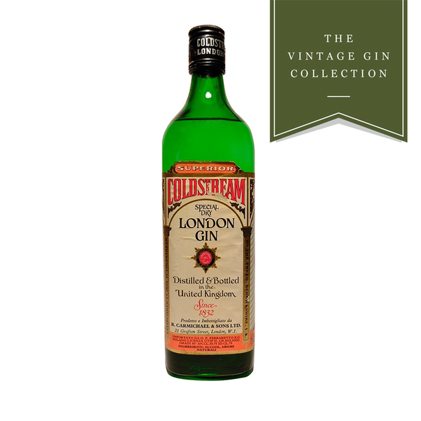 Vintage Gin - 1970's Coldstream Special Dry London Gin