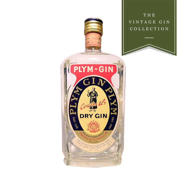 Vintage Gin - 1960's Plym-Gin