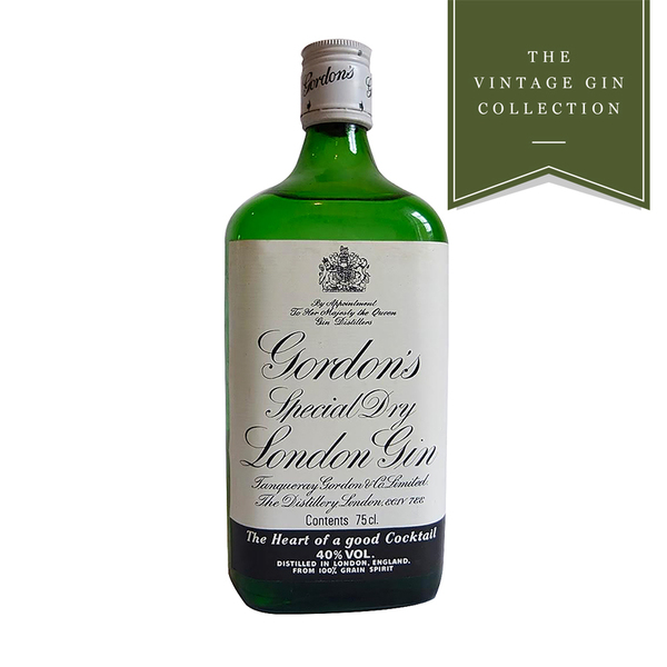 Vintage Gin - 1970's/1980's Gordon's Special Dry London Gin