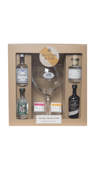 Gin Festival in a Box - The Craft Collection
