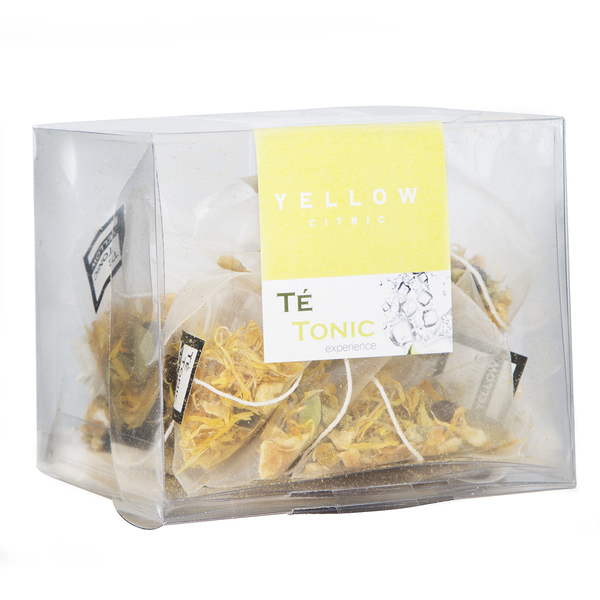 Te Tonic Infusions Yellow Citrus 12 Pack